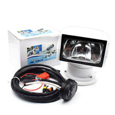 US Warehouse Remote Control Spotlight SUV Car Marine Searchlight 12V 100W Bulb