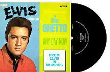"""ELVIS PRESLEY - IN THE GHETTO - 7"""" 45 VINYL RECORD PIC SLV"""