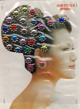 Jewellry Indian face Body Art décor hair sticker Accessories Bridal rhinestone