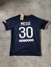 More details for paris saint-germain 2021/22 home shirt - messi 30