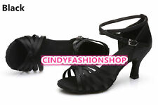 Hot Brand New Woman Ballroom Latin Tango Dance Shoes 5/7 CM Heeled Dancing Salsa