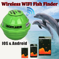 Brand Lucky Sonar Wireless WIFI Fish Finder 50M/130ft For IOS Iphone5s,6 R2