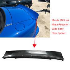 For Mazda MX5 1989-97 NA Miata Roadster RB FRP Rear Spoiler Trunk Spoiler Wing