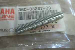 YAMAHA RD250 RD350 RD400 DT250 XS650 GENUINE FLASHER STAY BOLT - # 360-83367-09