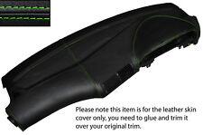 Haut piqûre verte peau cuir de tableau de bord Dash capot fits bmw série 5 E39 95-03