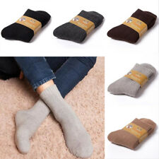 Lamb Wool Cashmere Comfortable Thick Socks Mens Winter Warm Outdoor Sports Socks