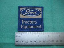 Vintage Ford Tractors Equipment Dealer Service Patch