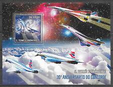 FLUGZEUGE-Concorde/ St.Tome et Principe MiNr Block 533 **
