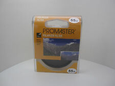 New Sealed ProMaster Polarizer 55mm Filter Lens (P2D9)