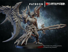 Winged Demon Bela - Ghamak Chaos Use in Warhammer 40k Be'lakor Age of Sigmar, D&