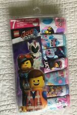 New Girls Lego Movie 2 Panties 7 Pair Package Size 4