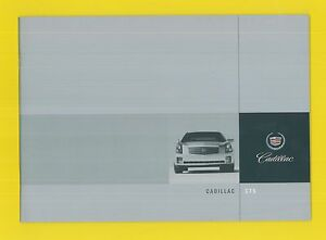 CADILLAC CTS CATALOGUE COMMERCIAL
