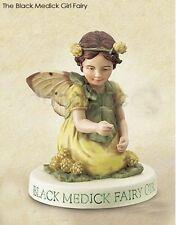 Cicely Mary Barker Black Medick Girl Flower Garden Fairy Figuerine on Base NIB