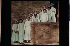 Hand Colored Glass Lantern Slide Image photo Of China Circa 1920  #10