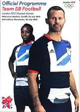 GIOCHI OLIMPICI LONDRA 2012 Team GB V Senegal football PROGRAMMA UFFICIALE