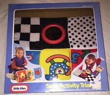 1994 Little Tikes Soft Activity Triangle Folding Mat 3 Play Panels Baby Rare NIB