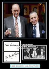 More details for (#137) eddie richardson & mad frankie fraser signed a4 photo/mounted/framed @@@@