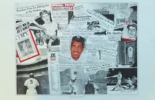 Joe Dimaggio New York Yankees 11x17 Color Lithograph Robert Stephen Simon