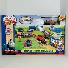 Thomas & Friends ~James' Fishy Delivery Set ~ 30 Pcs NEW Limited/Special Edition