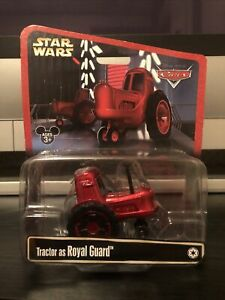 Disney Pixar Cars Star Wars Tractor As Royal Guard