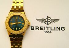 BREITLING ERIC TABARLY REF.80790 VINTAGE YACHT SPORT DAMEN ARMBANDUHR um 1985