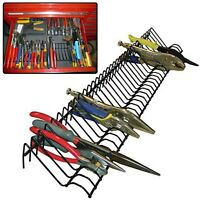 PLIERS RACK Garage Tool Storage Metal Plier Holder Organizer Work Tools Sorter