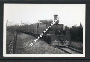 Cavan & Leitrim Railway Train c1940s/50s? Postcard Size photograph As Scanned