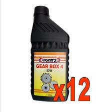 N. 12 WYNN'S GEAR BOX 4 80W litri 1 Olio per cambi manuali e differenziali GL4