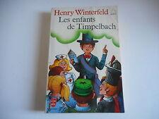 LIVRE DE POCHE - LES ENFANTS DE TIMPELBACH - HENRY WINTERFELD