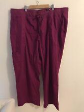 Koi Scrub Pants Plus Size Petite Womens Size 3x Petite (ref 12-111)