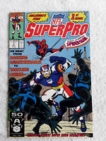 NFL Superpro #1 (Oct 1991, Marvel) 1st Issue VF+