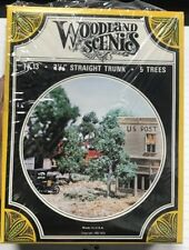 "Woodland Scenics TK 13 2-1/2"" Straight Trunk - 5 Trees"