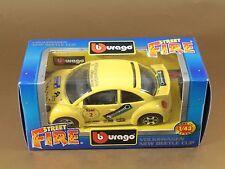 [PL3-9] BBURAGO BURAGO 1/43 STREET FIRE #41501 VOLKSWAGEN NEW BEETLE CUP NIB