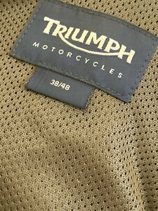 triumph mens motorcycle clothing jacket and trousers