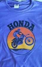 1970's Honda Motocross Motorcycle Bike T Shirt L or  XL