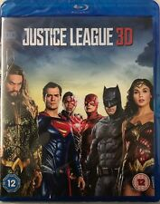 Justice League [Blu-ray 3D + Blu-ray Digital Download] New  Sealed Free P&P