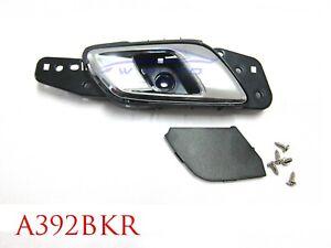 RIGHT FRONT INNER DOOR HANDLE BLACK CHROME FOR FORD PX RANGER 2012 20 MAZDA BT50