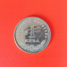 1 Kuna Münze aus Kroatien von 1995 (sehr schön)