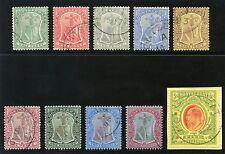 Used Edward VII (1902-1910) Montserratian Stamps