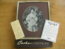 "Boxed Cash's/Neyret Freres Silk Le Cruche Cassee(after Greuze) 11 3/4"" x 13 5/8"""