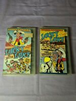 Lucky Luke VHS Lot Ep.1 Ma Dalton & 3 The Dalton Revenge Hanna Barbera Animation