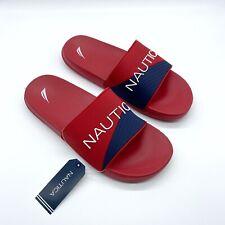 New Nautica Men's Summer  Slide Sandal Slipper Flip Flop Size 10