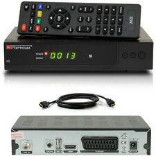 FULL HDTV HD Digital Sat receiver opticum ax300 plus x300 SCART HDMI dvb-s2 s60