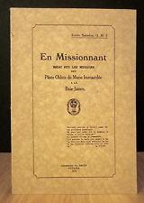 EN MISSIONNANT.  PAR ÉMILE SAINDON.
