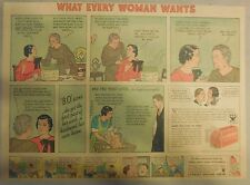 LifeBuoy Soap Ad: What Every Woman Wants ! Wartime Ad from 1930's