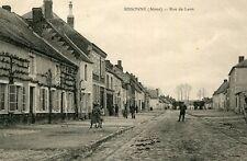 Carte SISSONNE Rue de Laon