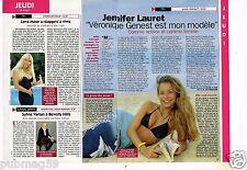 Coupure de presse Clipping 1996 (1 page 1/3) Jennifer Lauret Julie Lescaut