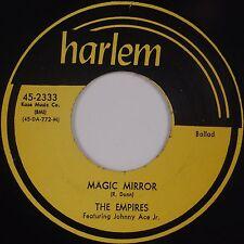 THE EMPIRES: Magic Mirror HARLEM Doo Wop '73 Repro SUPER Rare 45 NM