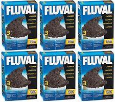 Fluval Carbon 100 gram 18pk nylon bags Media (6x3pk) 106 206 306 406 FX5 FX6
