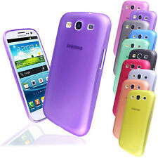 Pellicola + Custodia TPU Cover SEMIRIGIDA SLIM 0,5 mm Samsung I9300 Galaxy S3